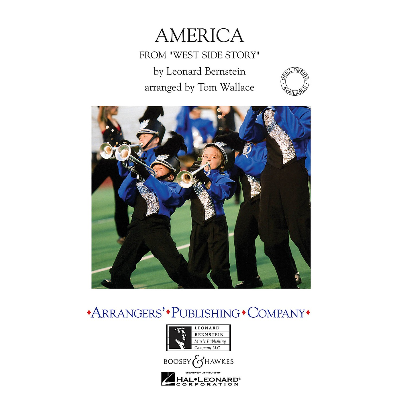 Arrangers America (from West Side Story) Marching Band Level 4 Arranged by Tom Wallace thumbnail