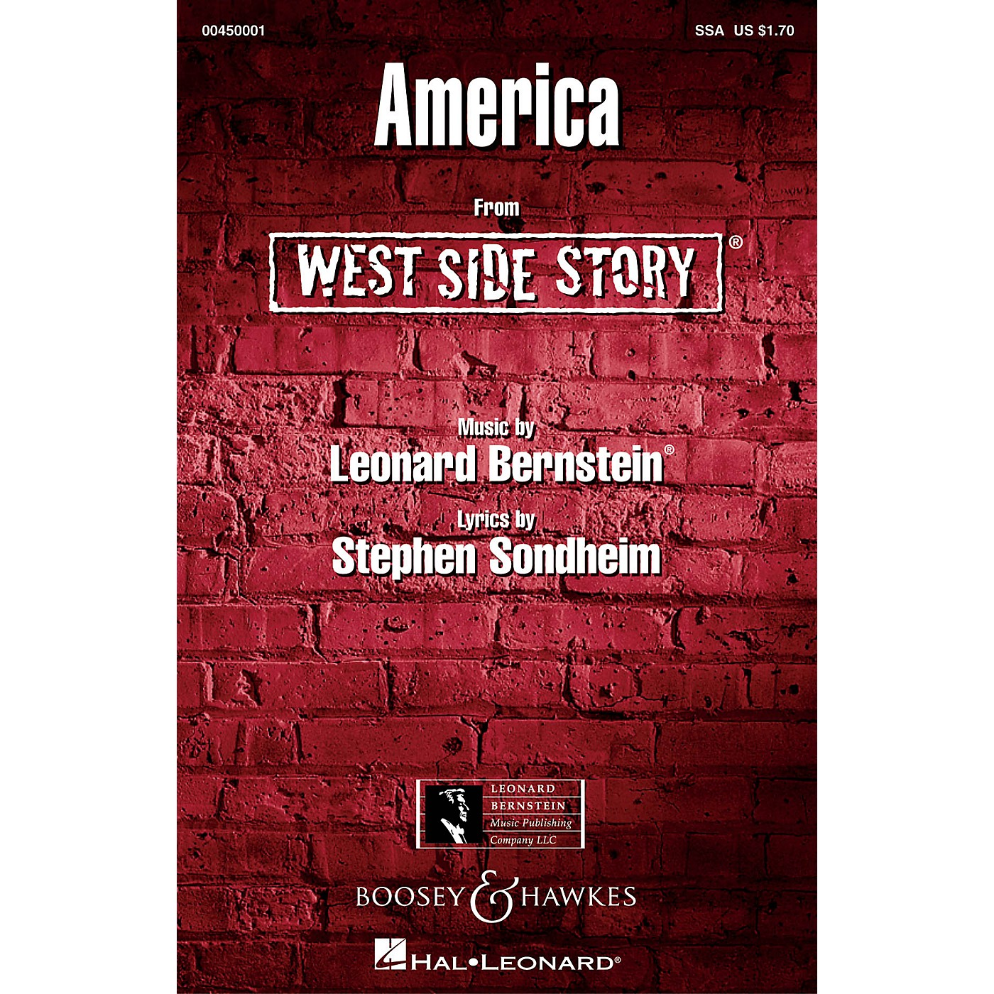 Leonard Bernstein Music America (from West Side Story) SSA Arranged by William Stickles thumbnail