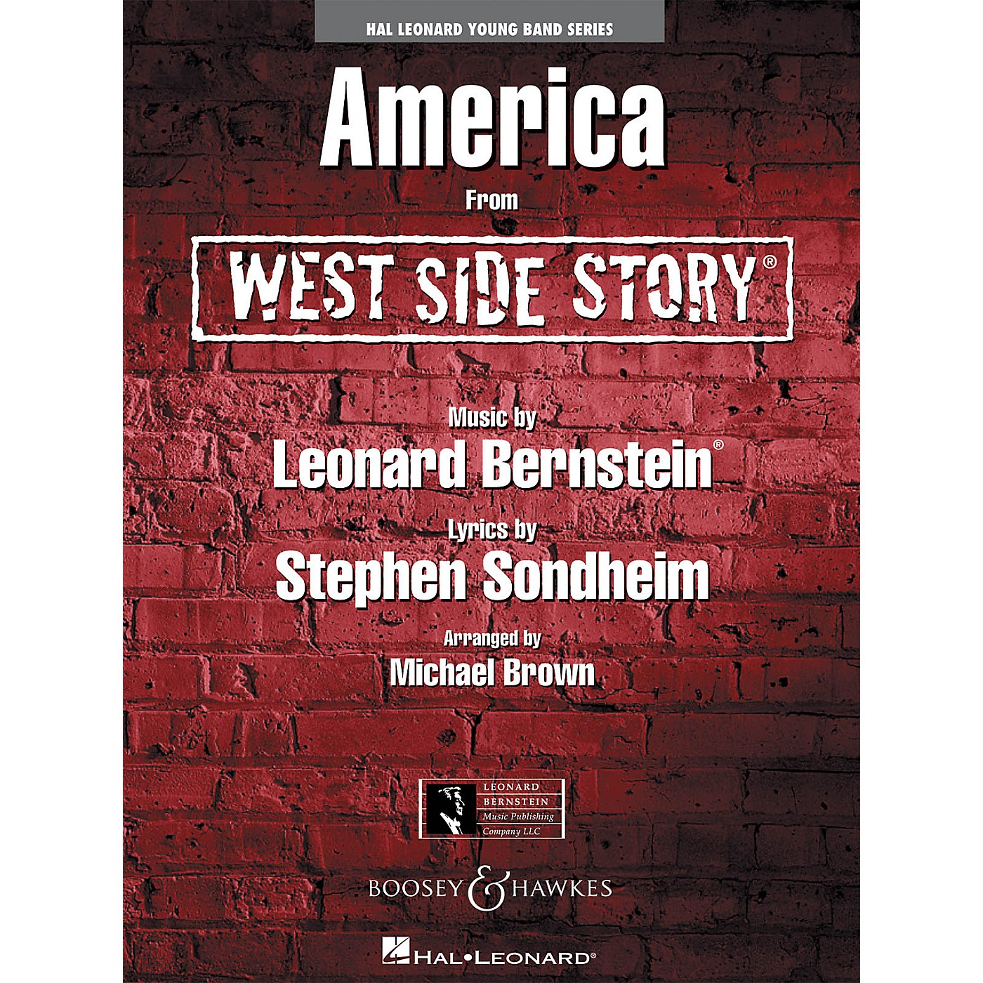 Hal Leonard America (from west Side Story) Full Score Concert Band thumbnail