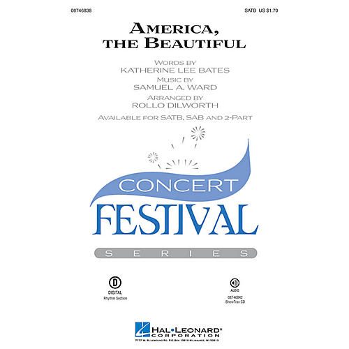 Hal Leonard America, the Beautiful 2-Part Arranged by Rollo Dilworth thumbnail