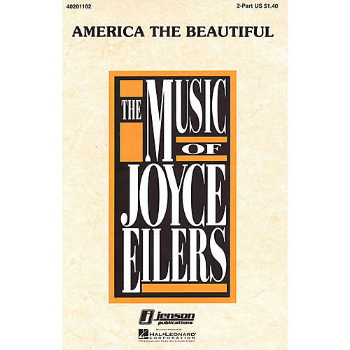 Hal Leonard America the Beautiful 2-Part arranged by Joyce Eilers thumbnail