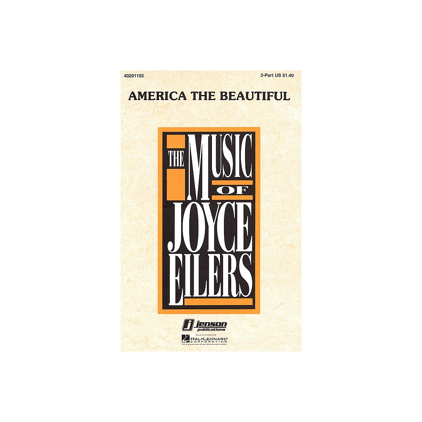 Hal Leonard America the Beautiful (3-Part Mixed) 3-Part Mixed Arranged by Joyce Eilers thumbnail
