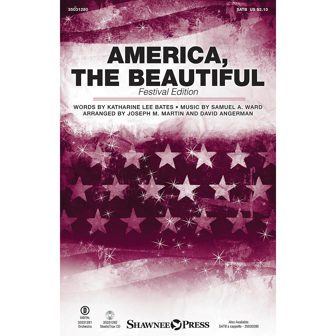 Shawnee Press America, the Beautiful (Festival Edition) Studiotrax CD Arranged by Joseph M. Martin thumbnail