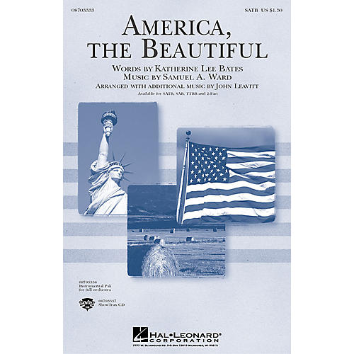 Hal Leonard America, the Beautiful IPAKO Arranged by John Leavitt thumbnail