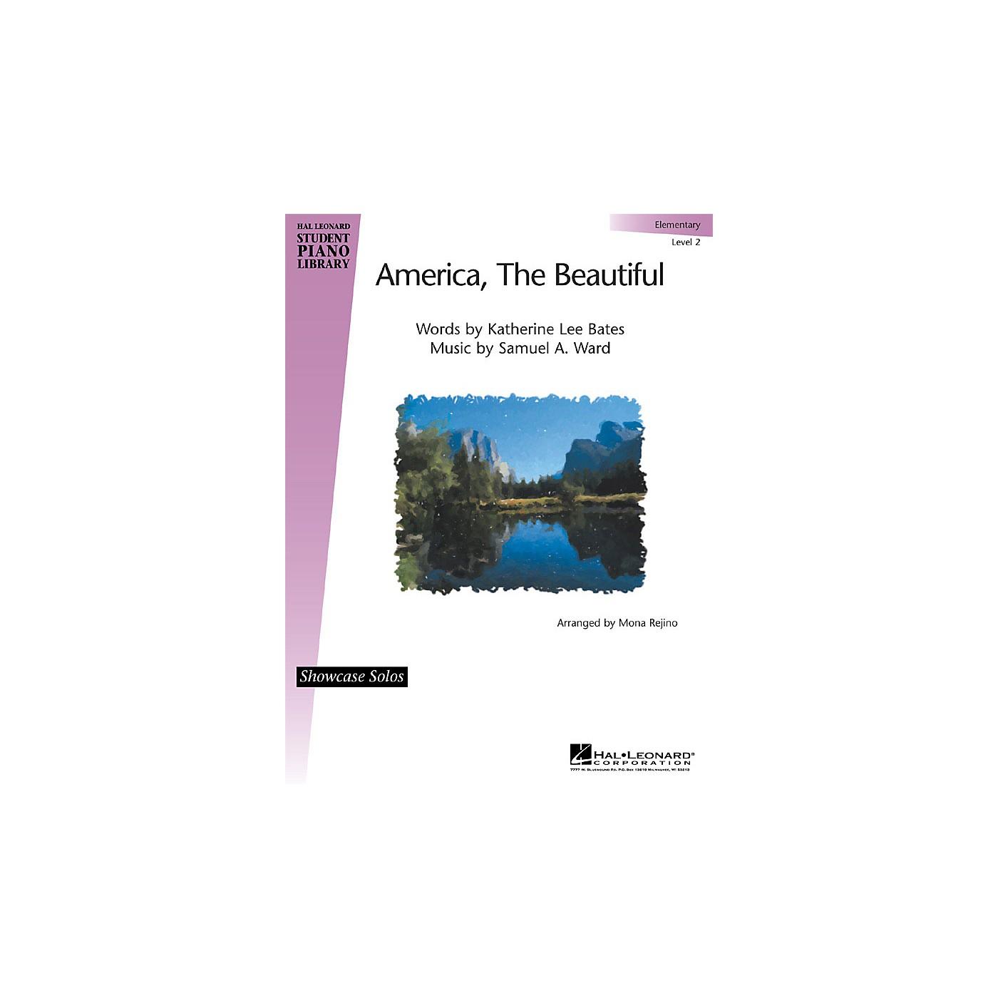 Hal Leonard America, the Beautiful Piano Library Series (Level Elem) thumbnail
