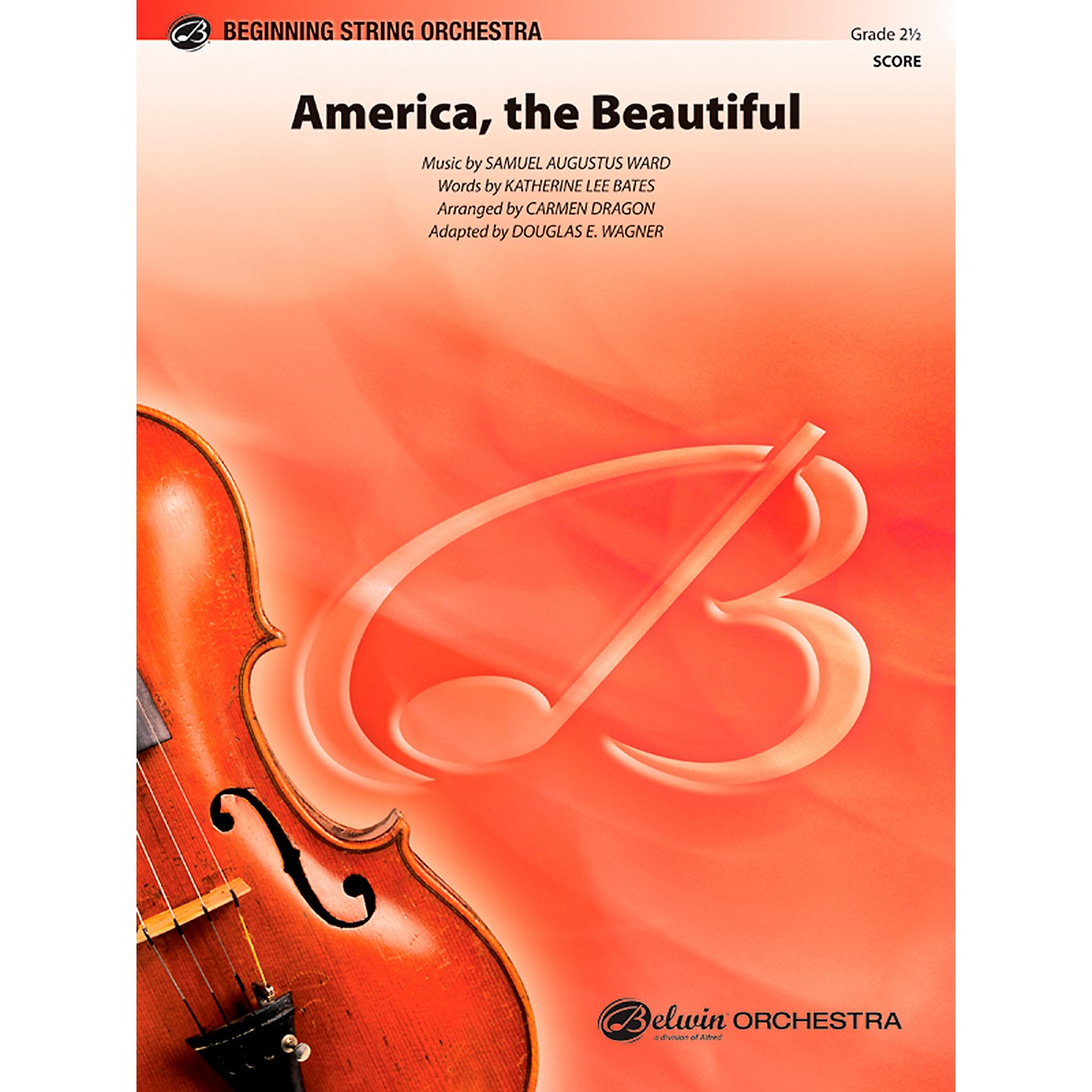 Alfred America, the Beautiful String Orchestra Grade 2.5 Set thumbnail