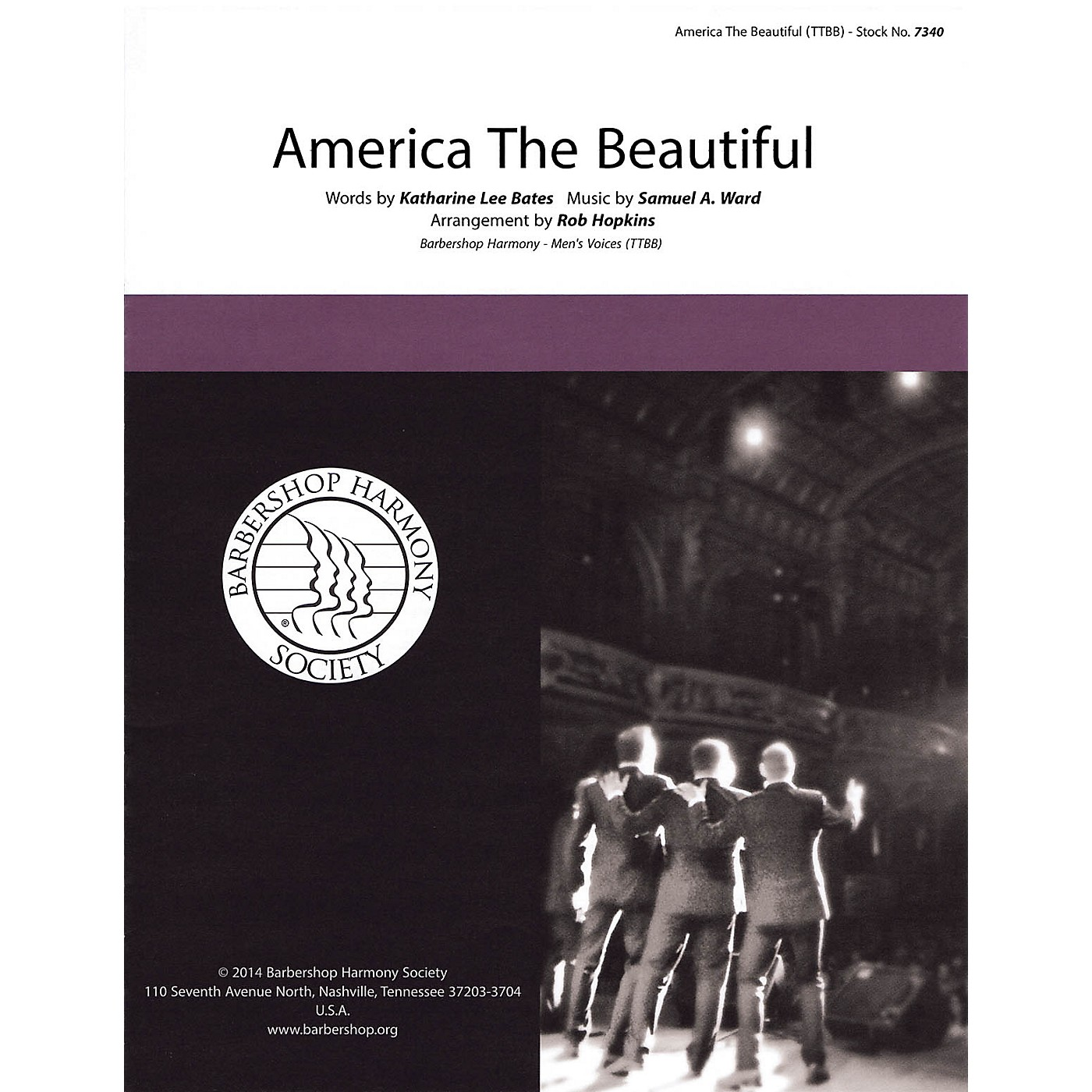 Barbershop Harmony Society America, the Beautiful TTBB A Cappella arranged by Rob Hopkins thumbnail
