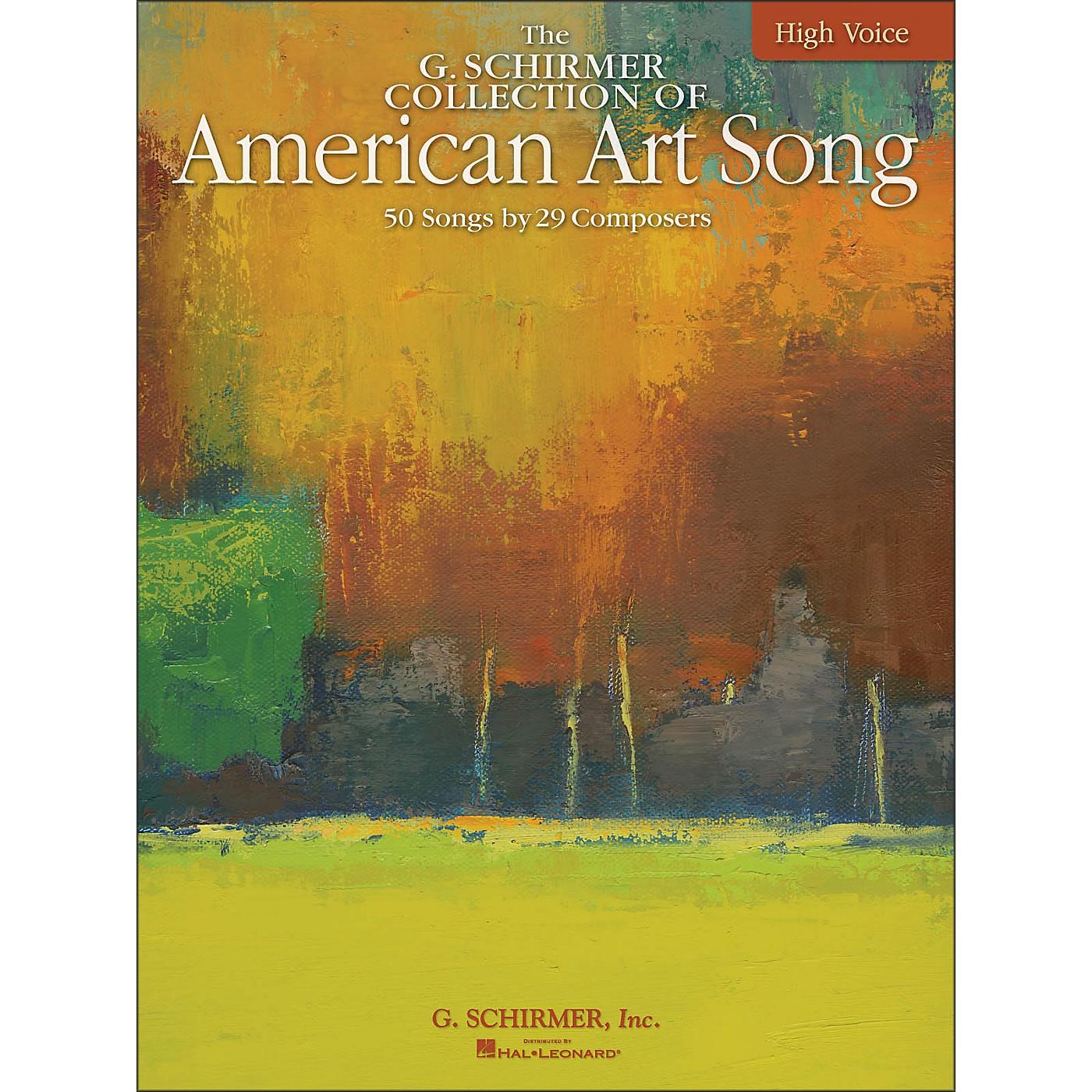 G. Schirmer American Art Song - The G. Schirmer Collection for High Voice thumbnail