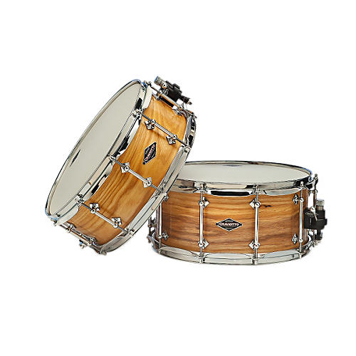 Craviotto American Ash Snare Drum with Natural Satin Oil Finish-thumbnail