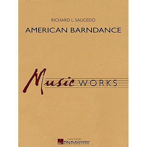 Hal Leonard American Barndance - MusicWorks Grade 4 Concert Band thumbnail