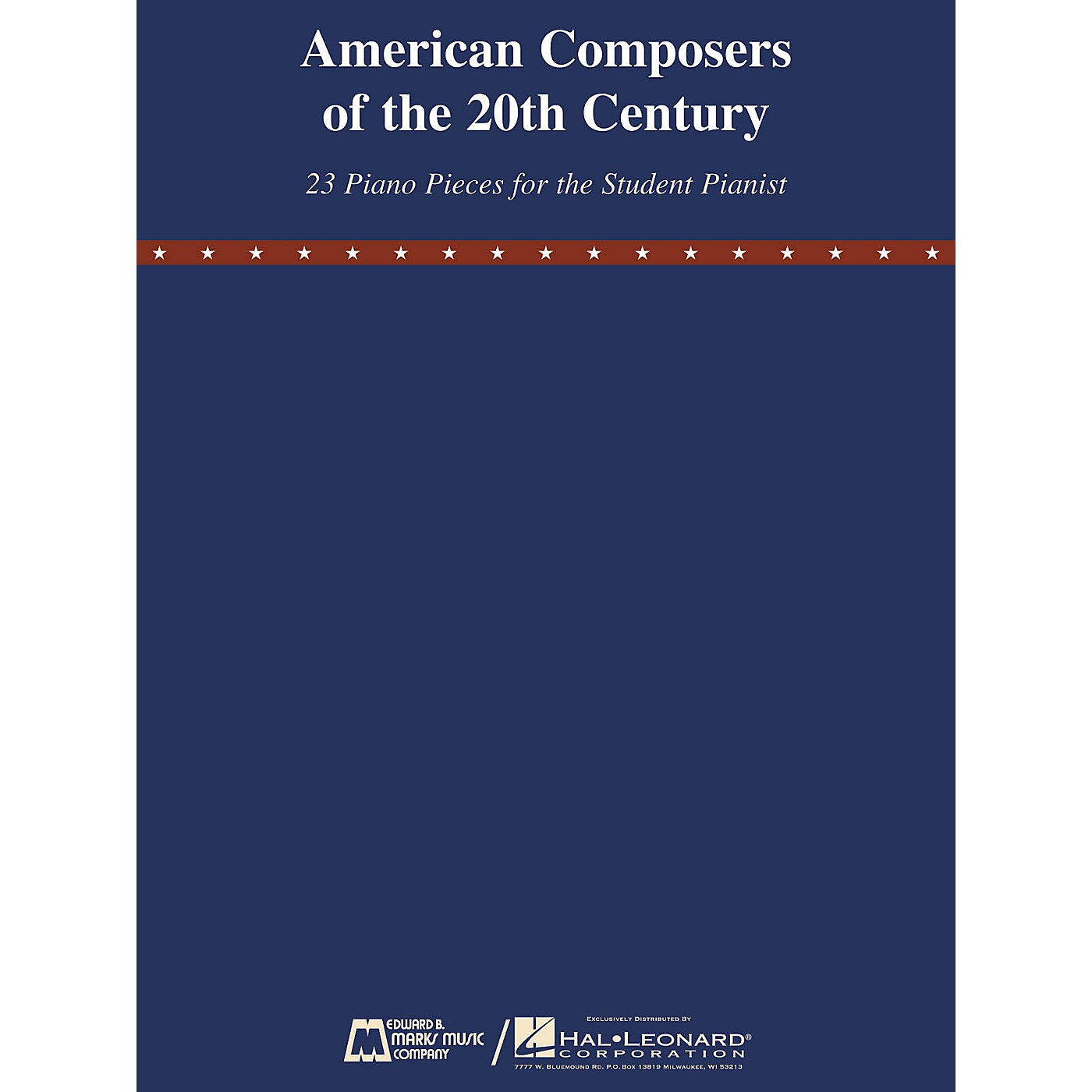 Edward B. Marks Music Company American Composers of the 20th Century E.B. Marks Series Softcover Composed by Various thumbnail