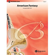 "Alfred American Fantasy (based on ""America"" and ""America, the Beautiful"") Concert Band Grade 1 Set"