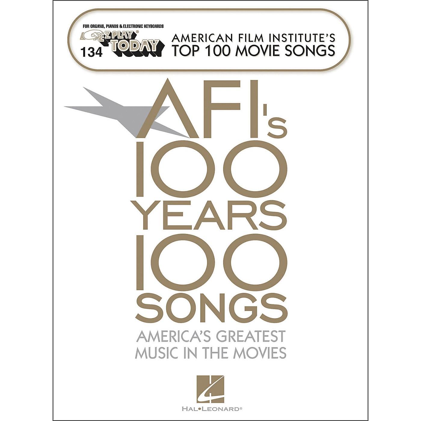 Hal Leonard American Film Institute's Top 100 Movie Songs E-Z Play 134 thumbnail