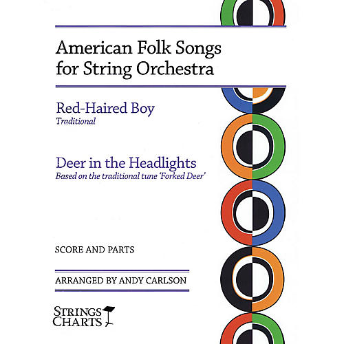 String Letter Publishing American Folk Songs for String Orchestra String Letter Publishing Series Slick Wrap by Andy Carlson thumbnail