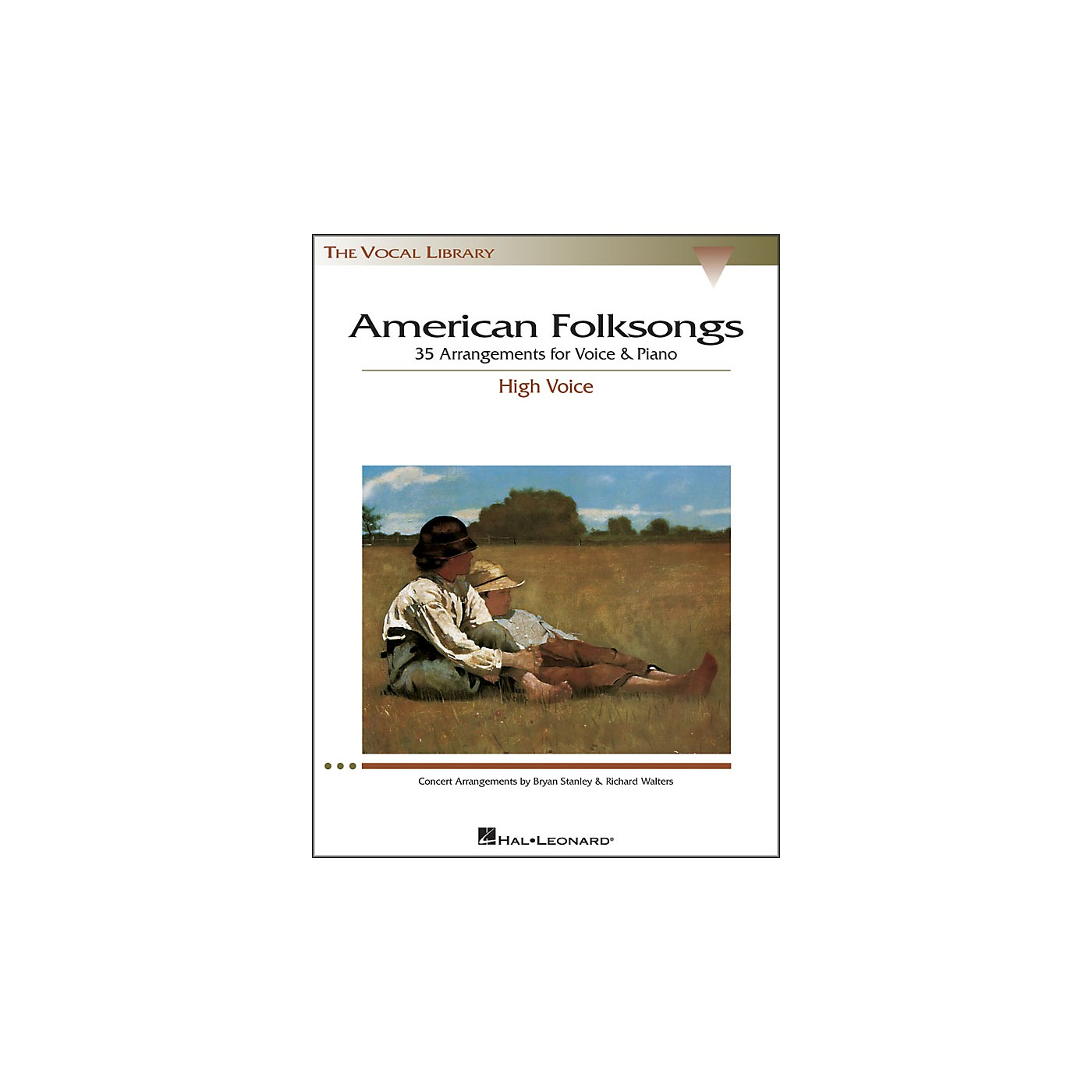 Hal Leonard American Folksongs for High Voice (The Vocal Library Series) thumbnail