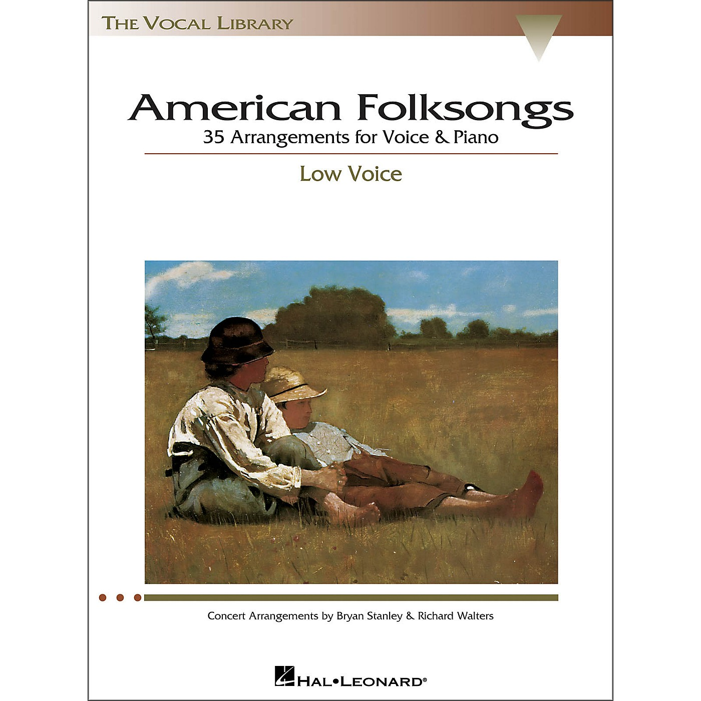 Hal Leonard American Folksongs for Low Voice (The Vocal Library Series) thumbnail
