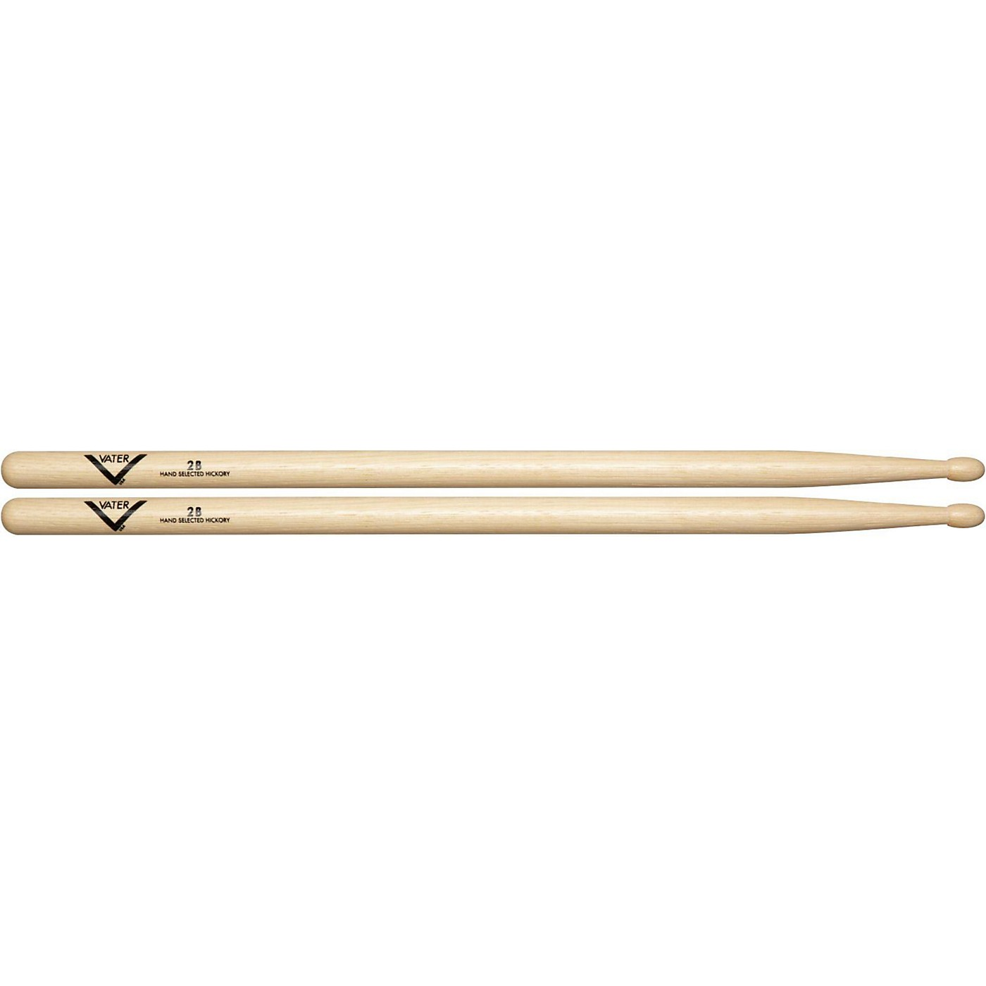 Vater American Hickory 2B Drumsticks thumbnail