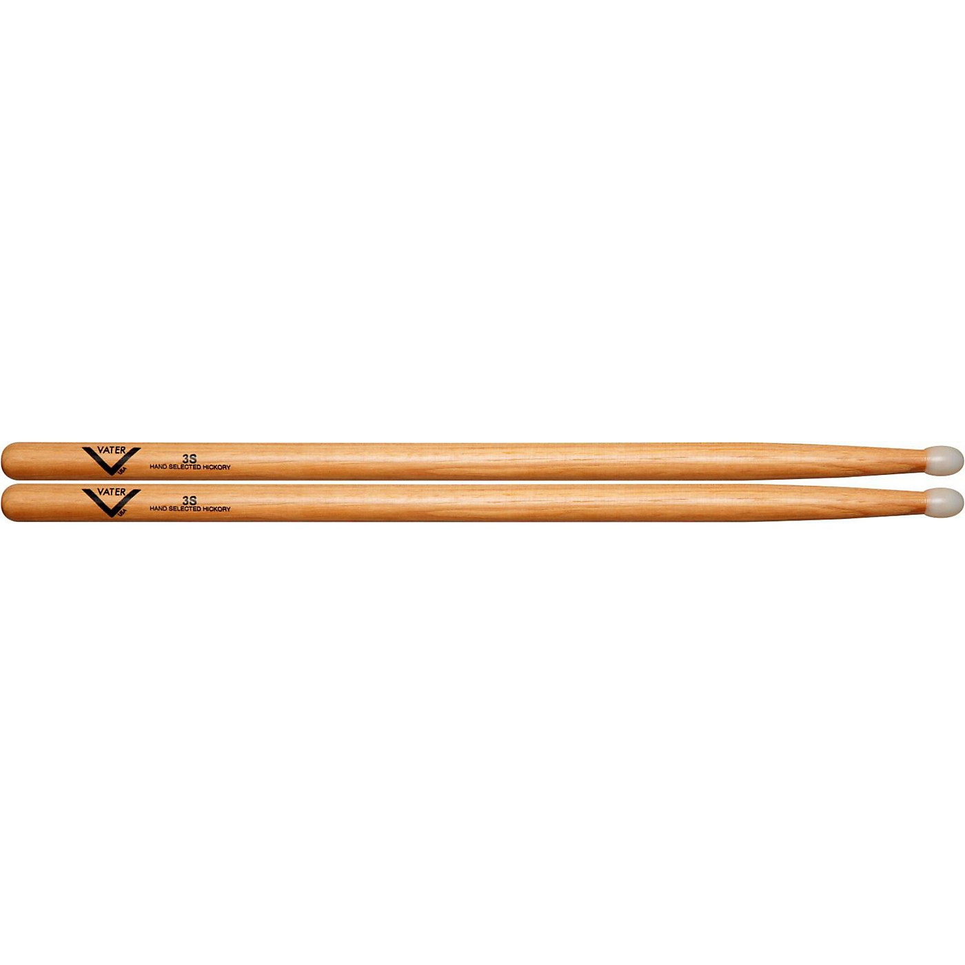 Vater American Hickory 3S Drumsticks thumbnail