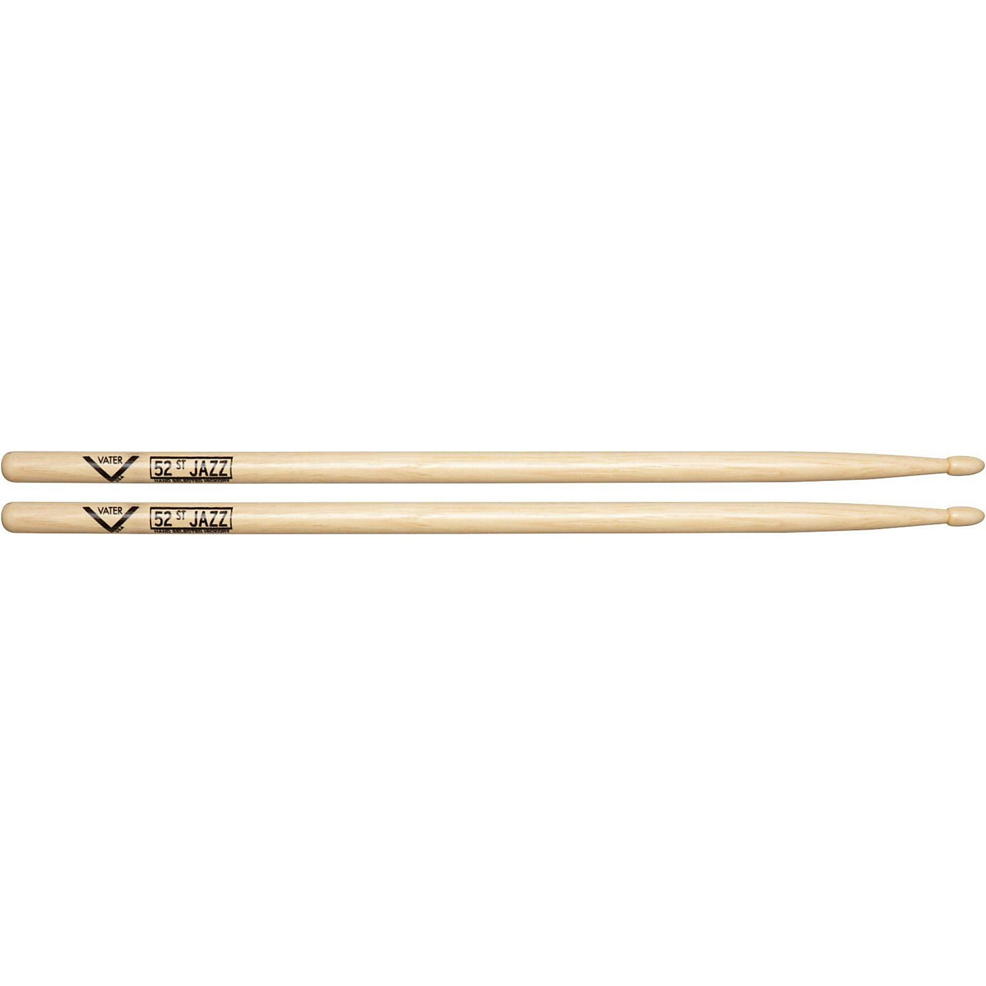 Vater American Hickory 52nd St. Jazz Drumsticks thumbnail