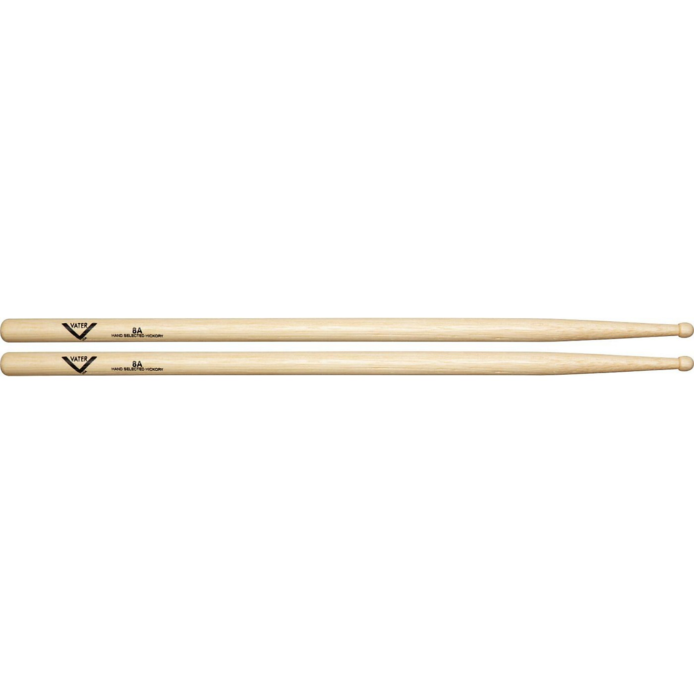 Vater American Hickory 8A Drumsticks thumbnail