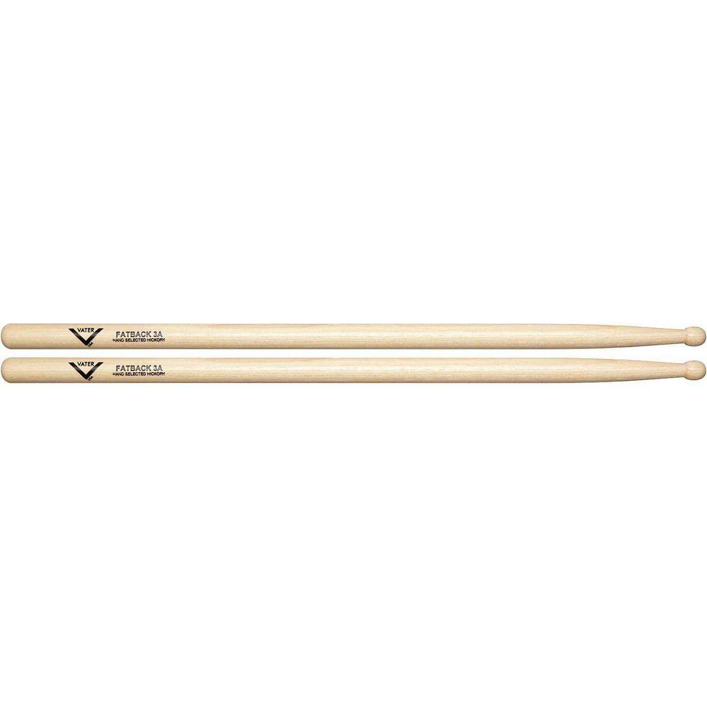 Vater American Hickory Fatback 3A Drum Sticks thumbnail