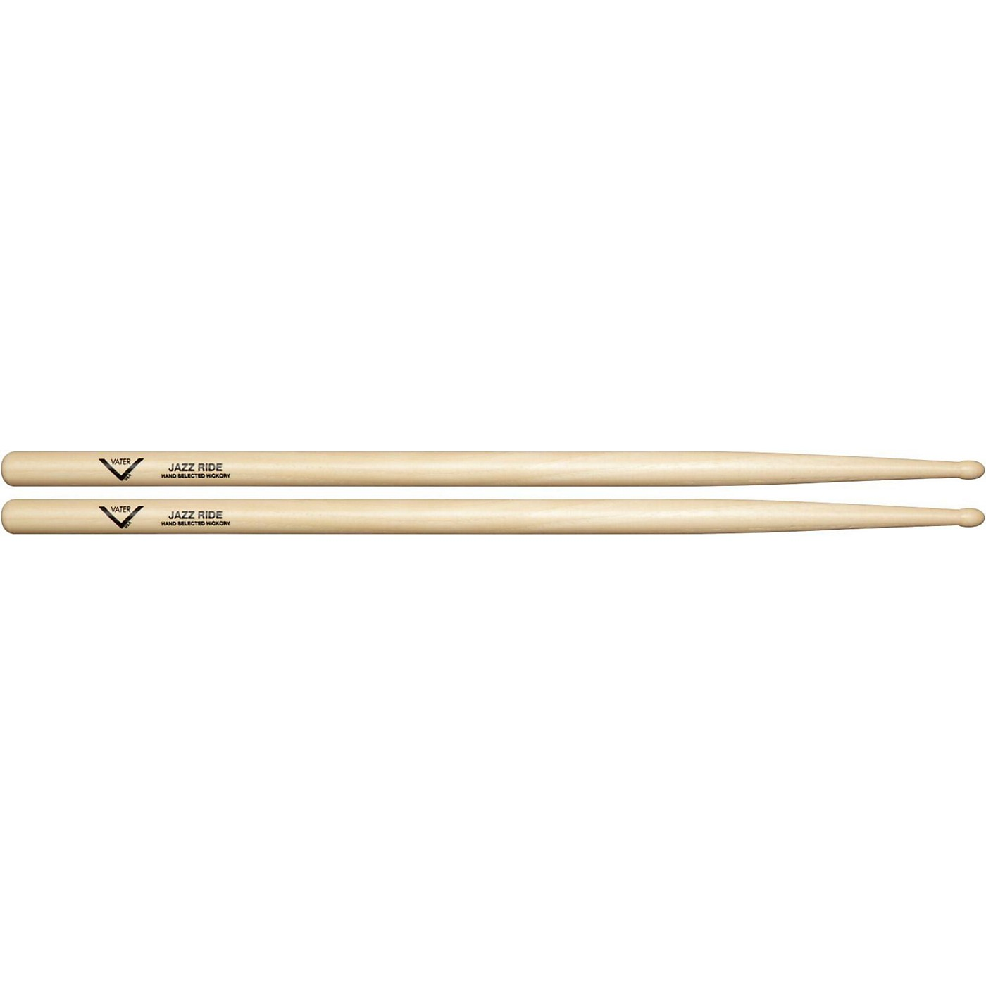Vater American Hickory Jazz Ride Drumsticks thumbnail