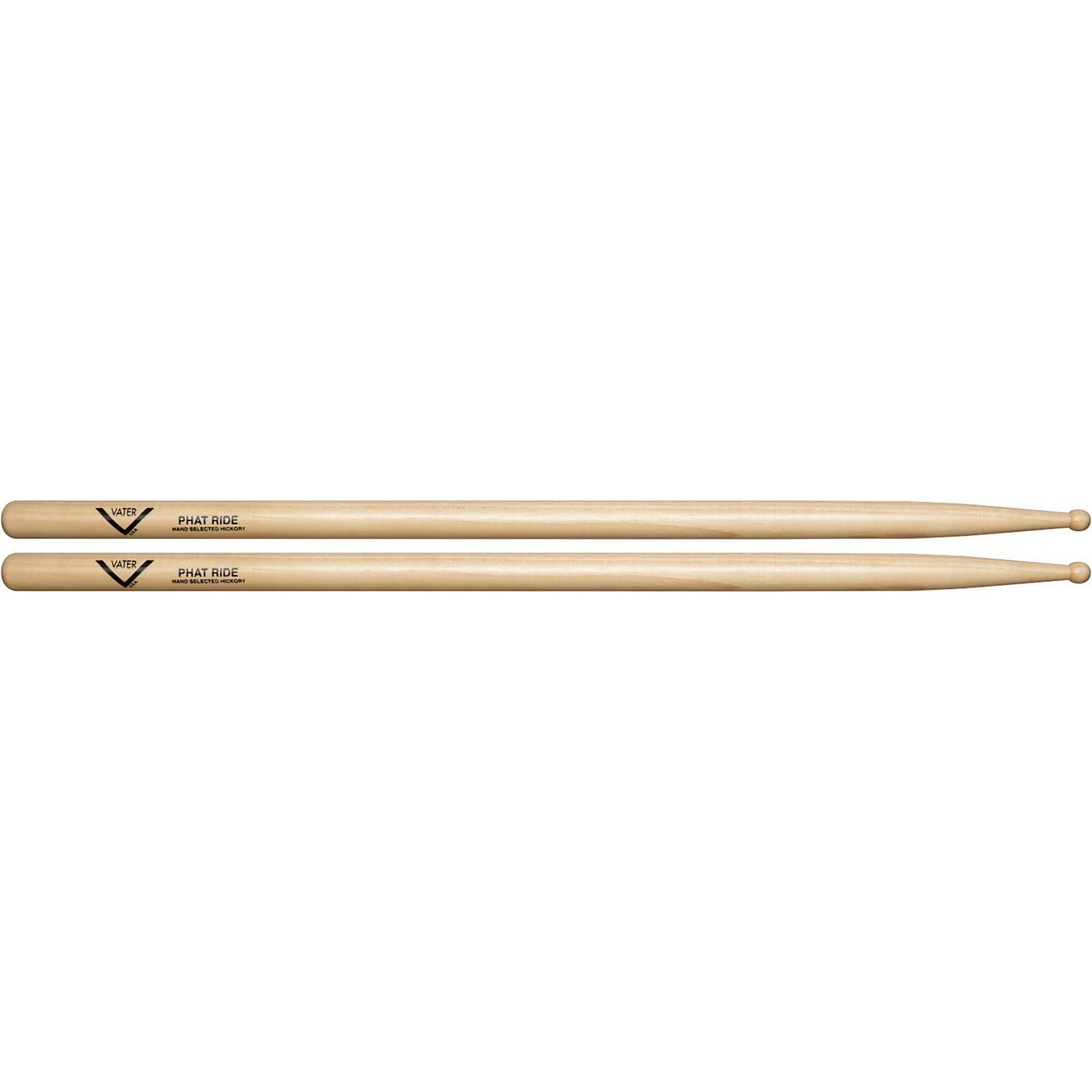 Vater American Hickory Phat Ride Drumsticks thumbnail