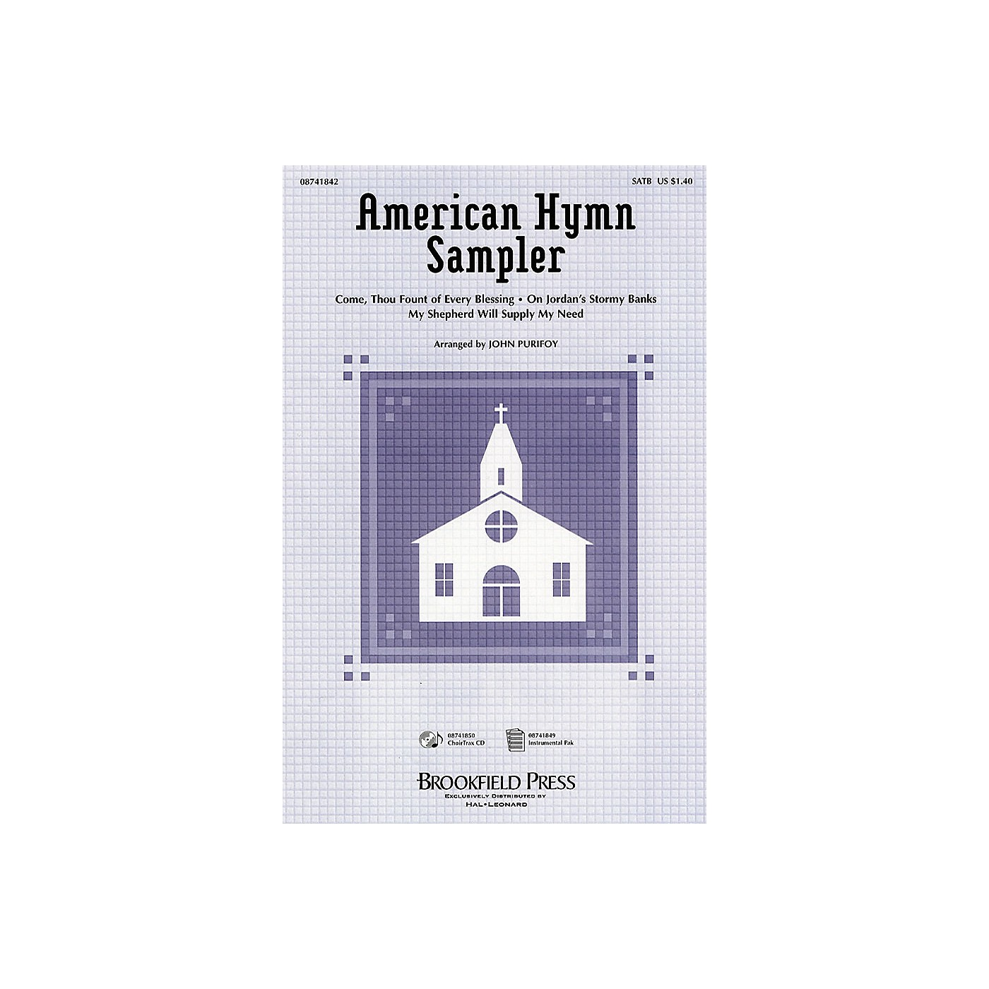 Brookfield American Hymn Sampler (Medley) IPAKB Arranged by John Purifoy thumbnail