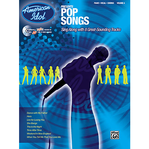 Alfred American Idol Presents Pop Songs Book and CD thumbnail