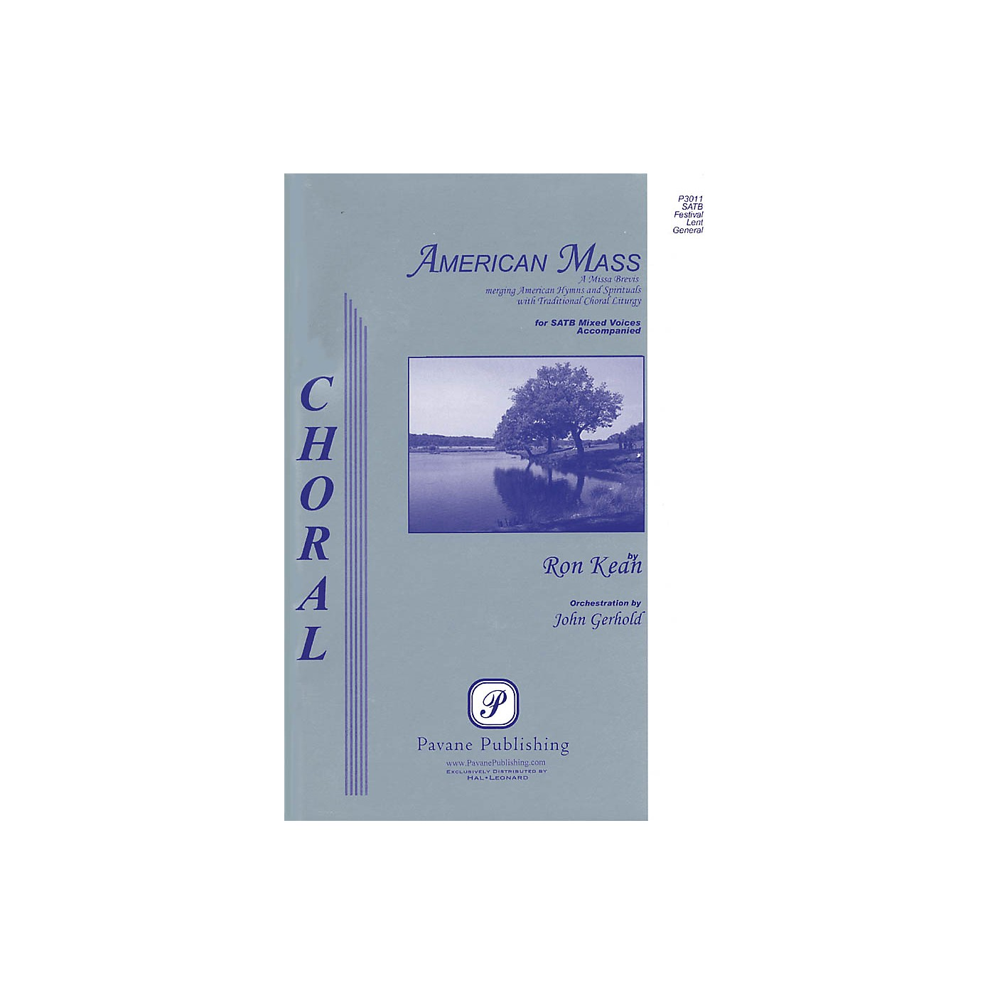 Pavane American Mass Score Composed by Ron Kean thumbnail