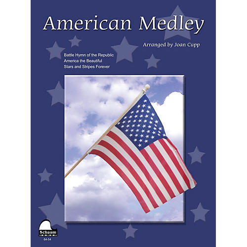 SCHAUM American Medley (NFMC 2016-2020 Federation Festivals Bulletin) Educational Piano Book (Level Upper Int) thumbnail
