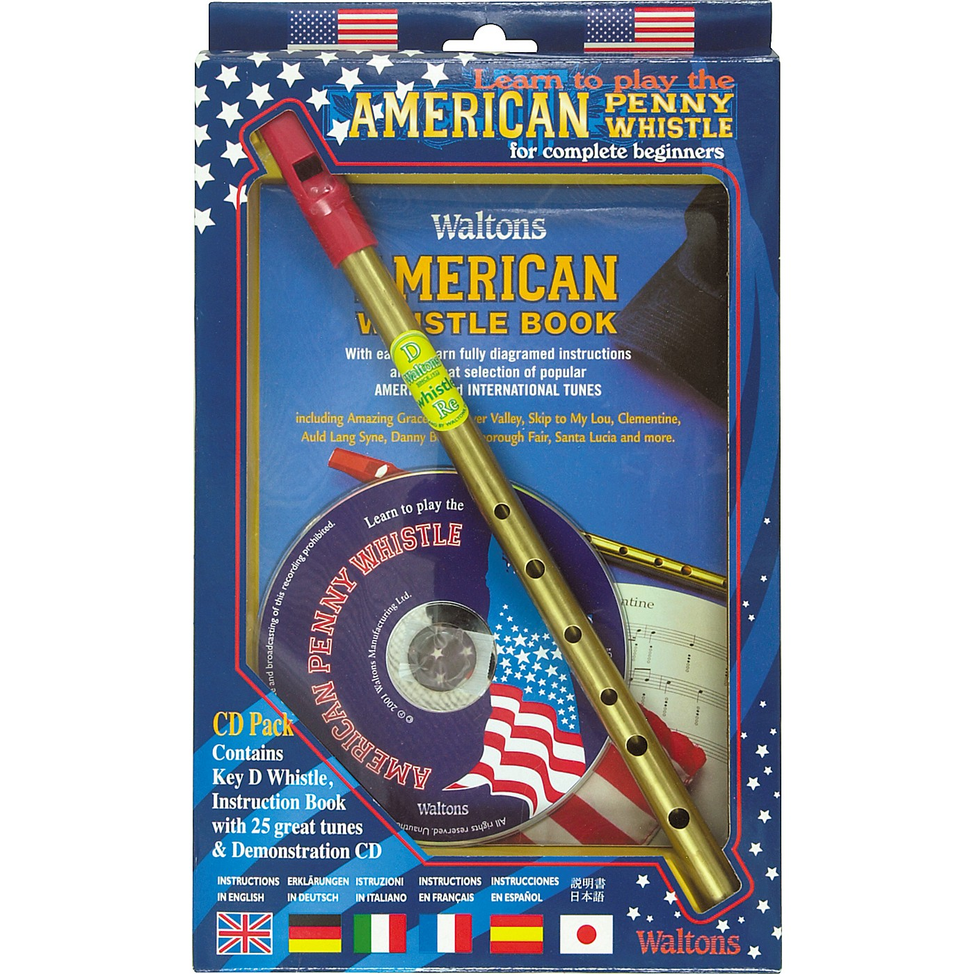 Waltons American Penny Whistle CD Pack thumbnail