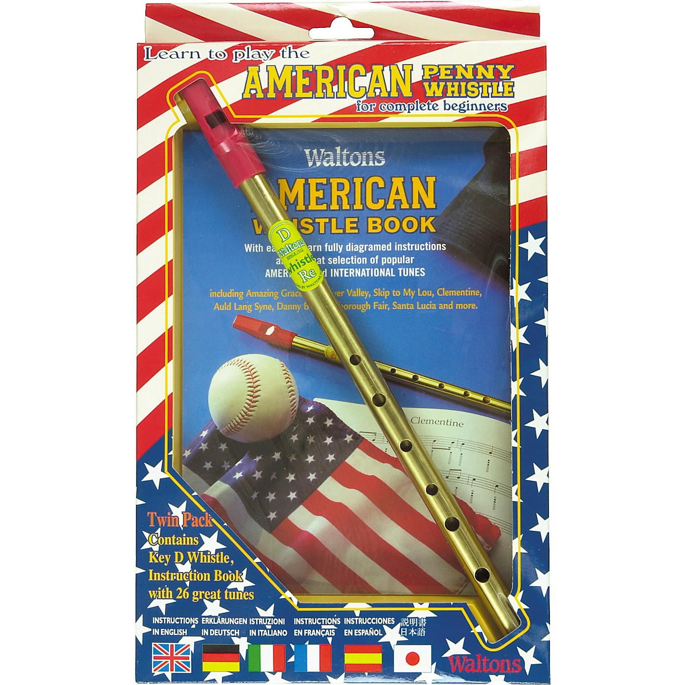 Waltons American Penny Whistle Value Pack thumbnail
