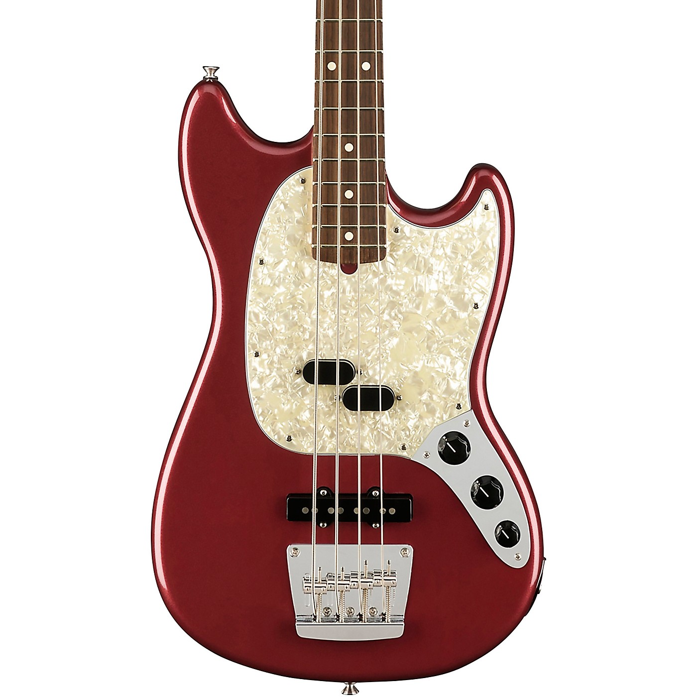 Fender American Performer Mustang Bass Rosewood Fingerboard thumbnail