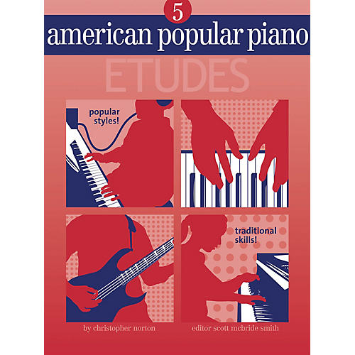 Novus Via American Popular Piano - Etudes Novus Via Music Group Series Softcover Written by Christopher Norton thumbnail