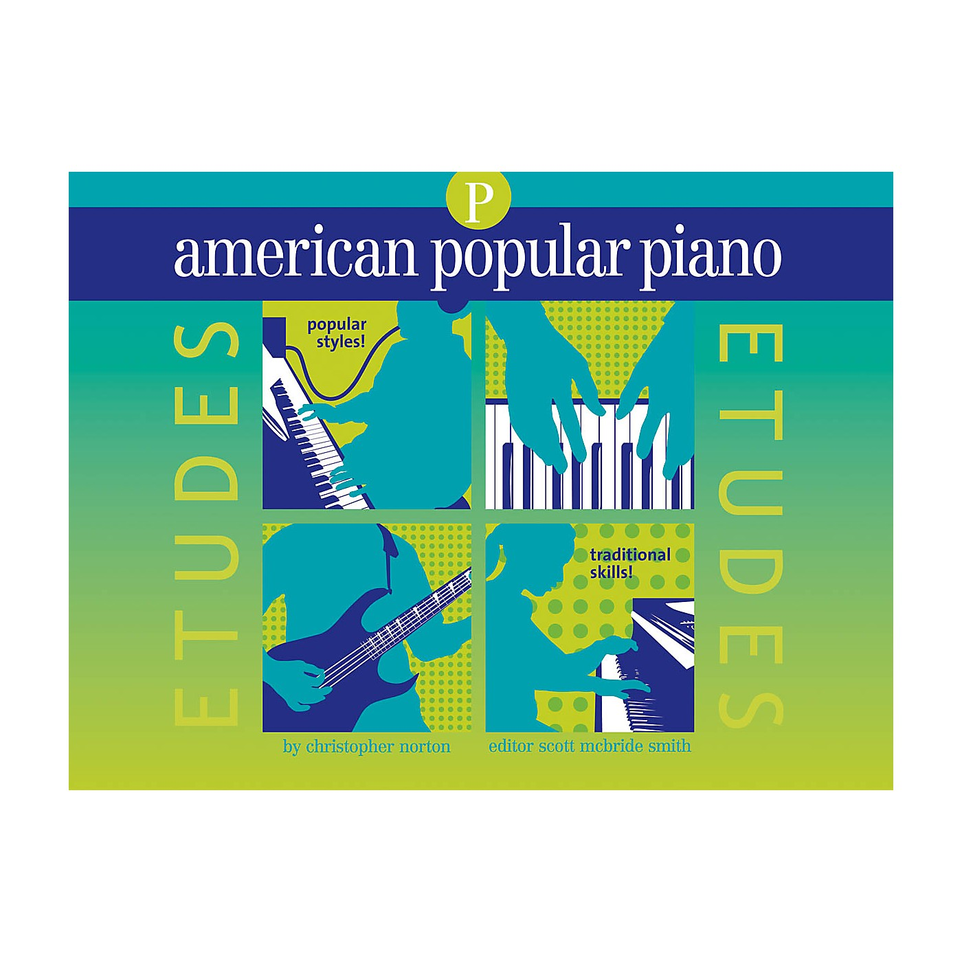 Novus Via American Popular Piano - Etudes Novus Via Music Group Series Softcover Written by Christopher Norton thumbnail