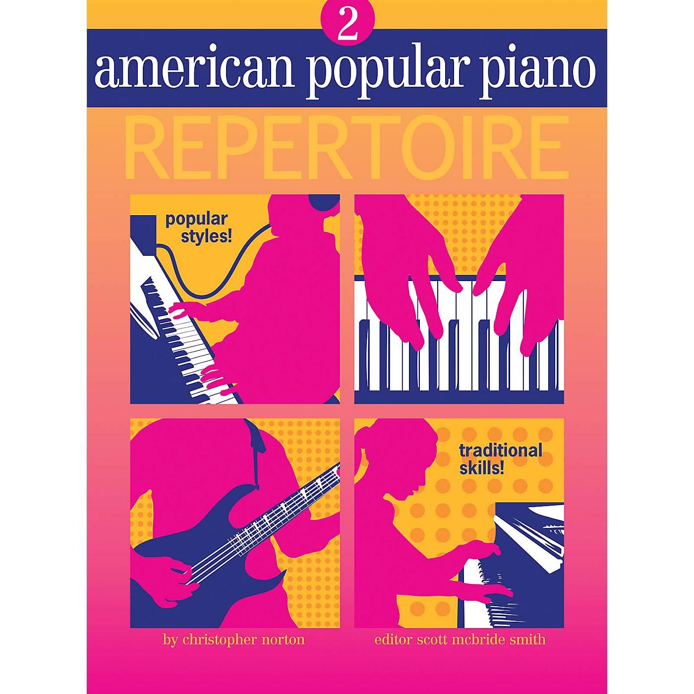 Novus Via American Popular Piano - Repertoire Novus Via Music Group Softcover Media Online by Christopher Norton thumbnail