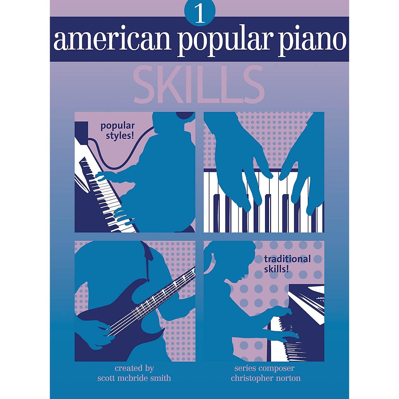 Novus Via American Popular Piano - Skills (Level One - Skills) Novus Via Music Group Series by Christopher Norton thumbnail
