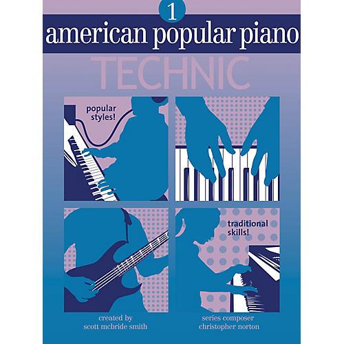Novus Via American Popular Piano - Technic (Level One - Technic) Novus Via Music Group Series by Christopher Norton thumbnail