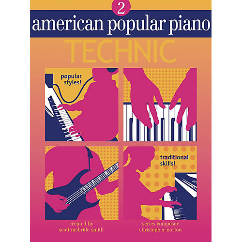 Novus Via American Popular Piano - Technic (Level Two - Technic) Novus Via Music Group Series by Christopher Norton thumbnail