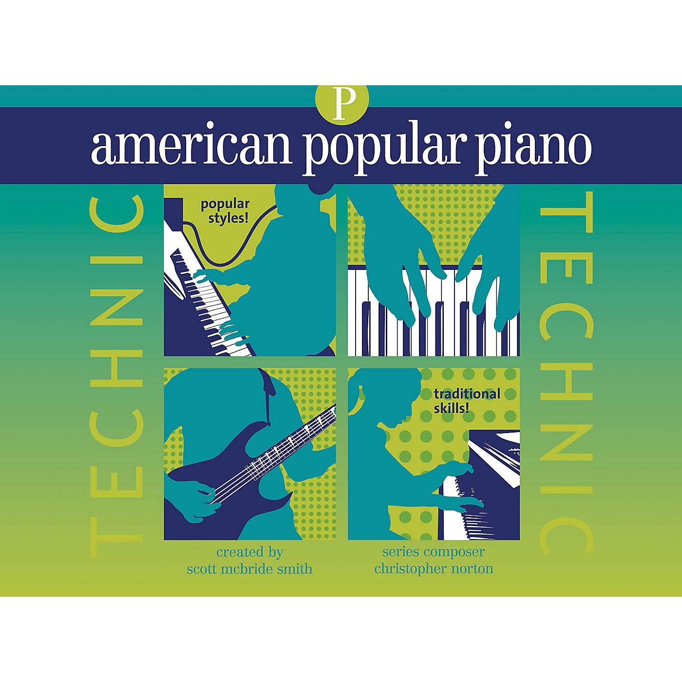 Novus Via American Popular Piano - Technic Novus Via Music Group Series Written by Christopher Norton thumbnail