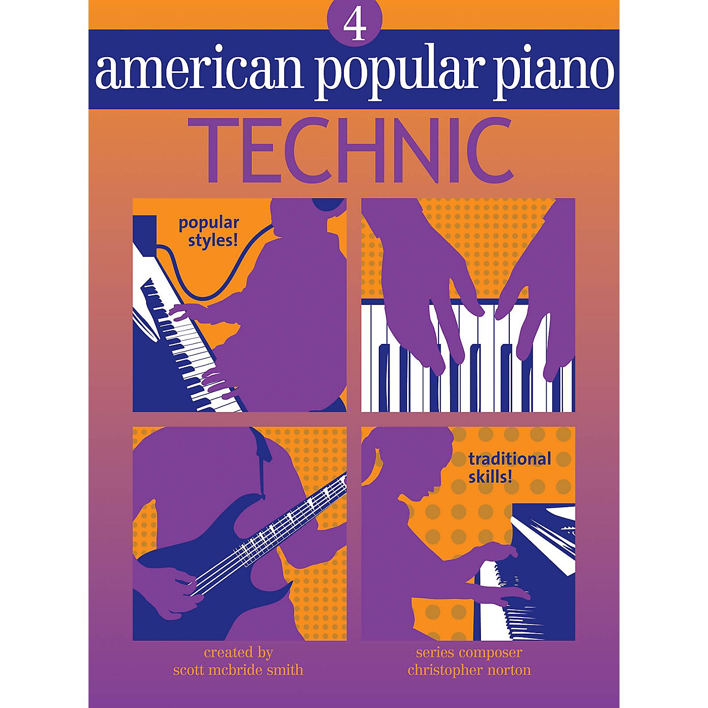 Novus Via American Popular Piano (Level Four - Technic) Novus Via Music Group Series Written by Christopher Norton thumbnail