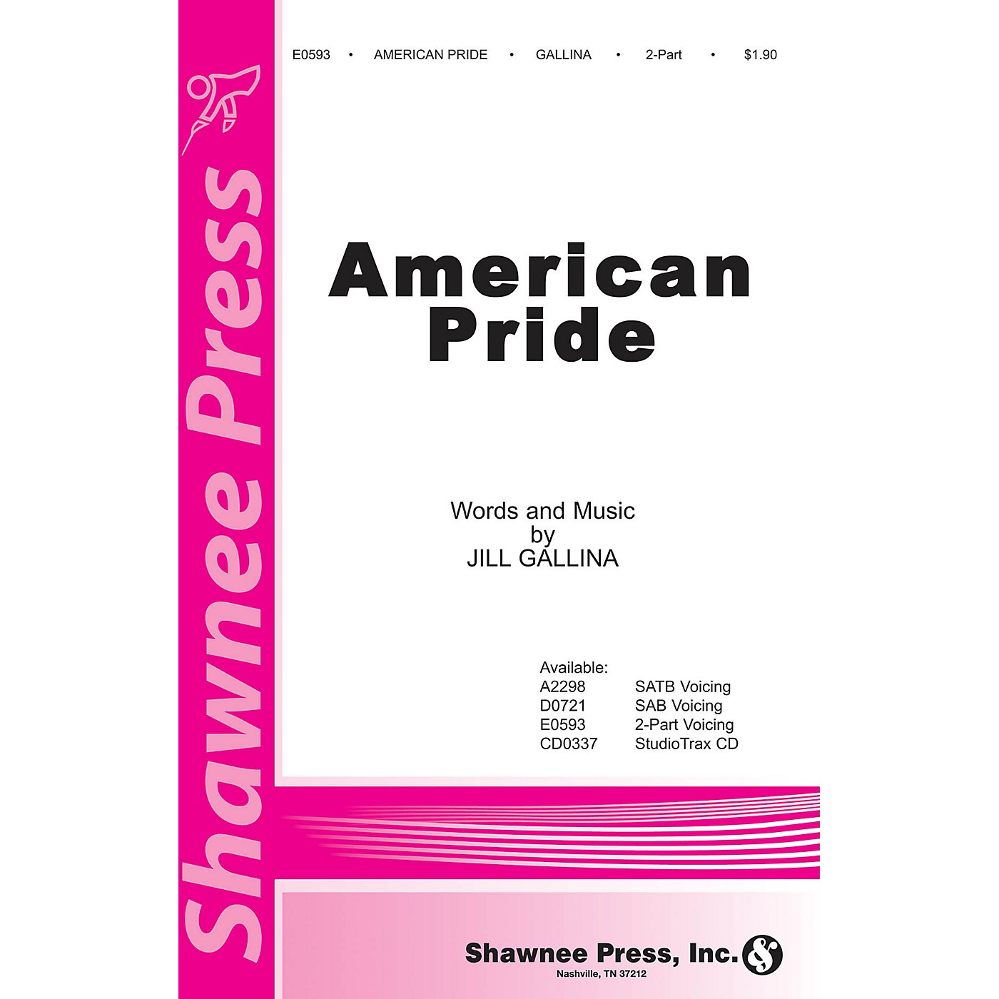 Shawnee Press American Pride 2-Part composed by Jill Gallina thumbnail