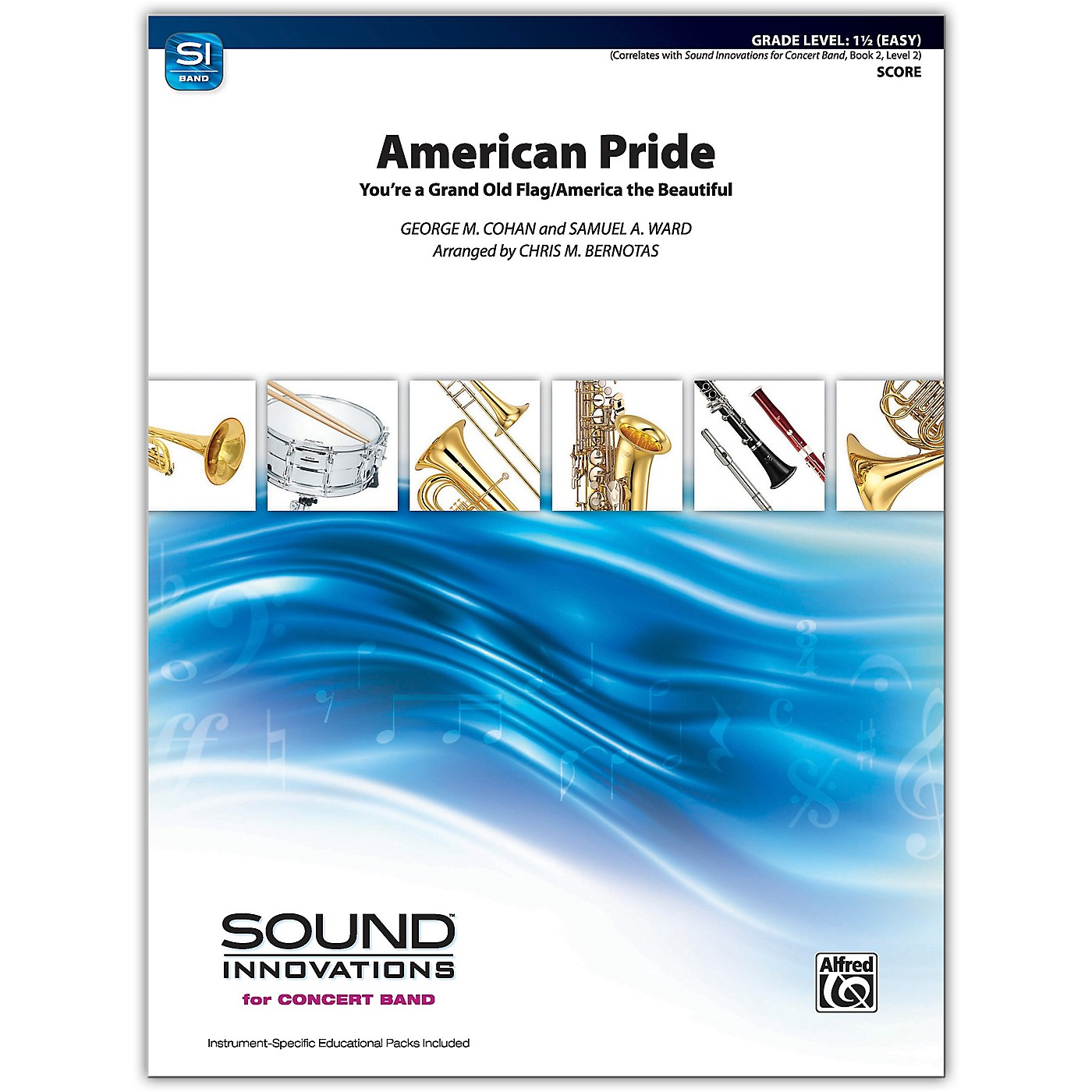 Alfred American Pride Conductor Score 1.5 (Easy) thumbnail