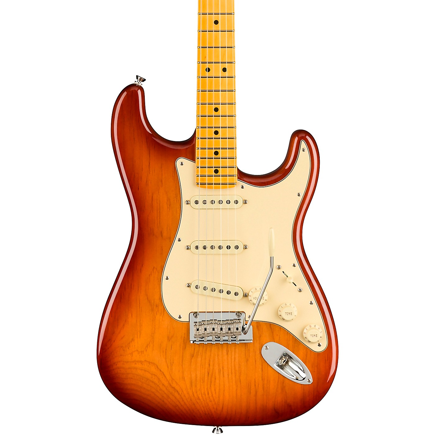 Fender American Professional II Roasted Pine Stratocaster Maple Fingerboard Electric Guitar thumbnail