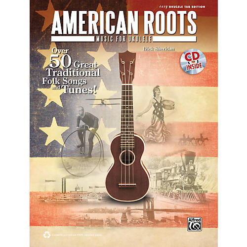 Alfred American Roots Music for Ukulele Book & CD thumbnail