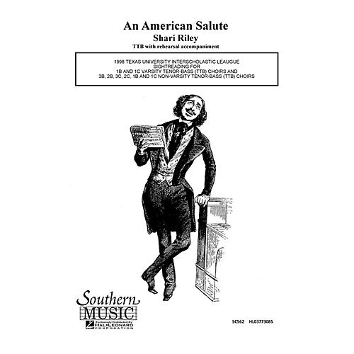 Hal Leonard American Salute (Choral Music/Octavo Secular Ttb) TTB Composed by Riley, Shari thumbnail