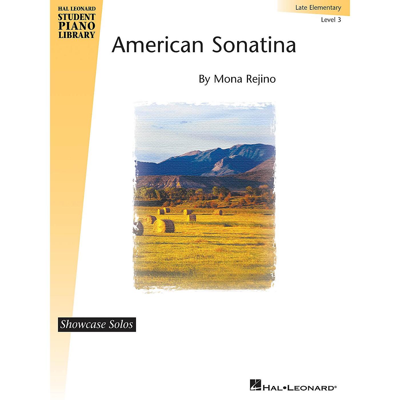Hal Leonard American Sonatina Piano Library Series by Mona Rejino (Level Late Elem) thumbnail