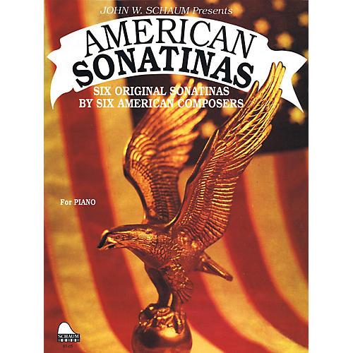SCHAUM American Sonatinas Educational Piano Series Softcover thumbnail