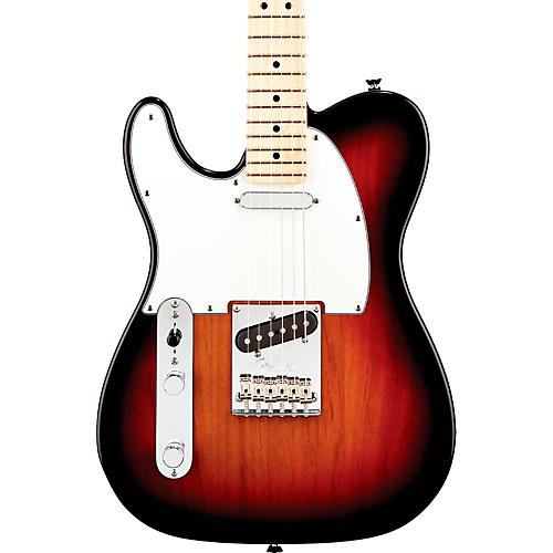 Fender American Standard Telecaster Left-Handed Electric Guitar with Maple Fingerboard-thumbnail